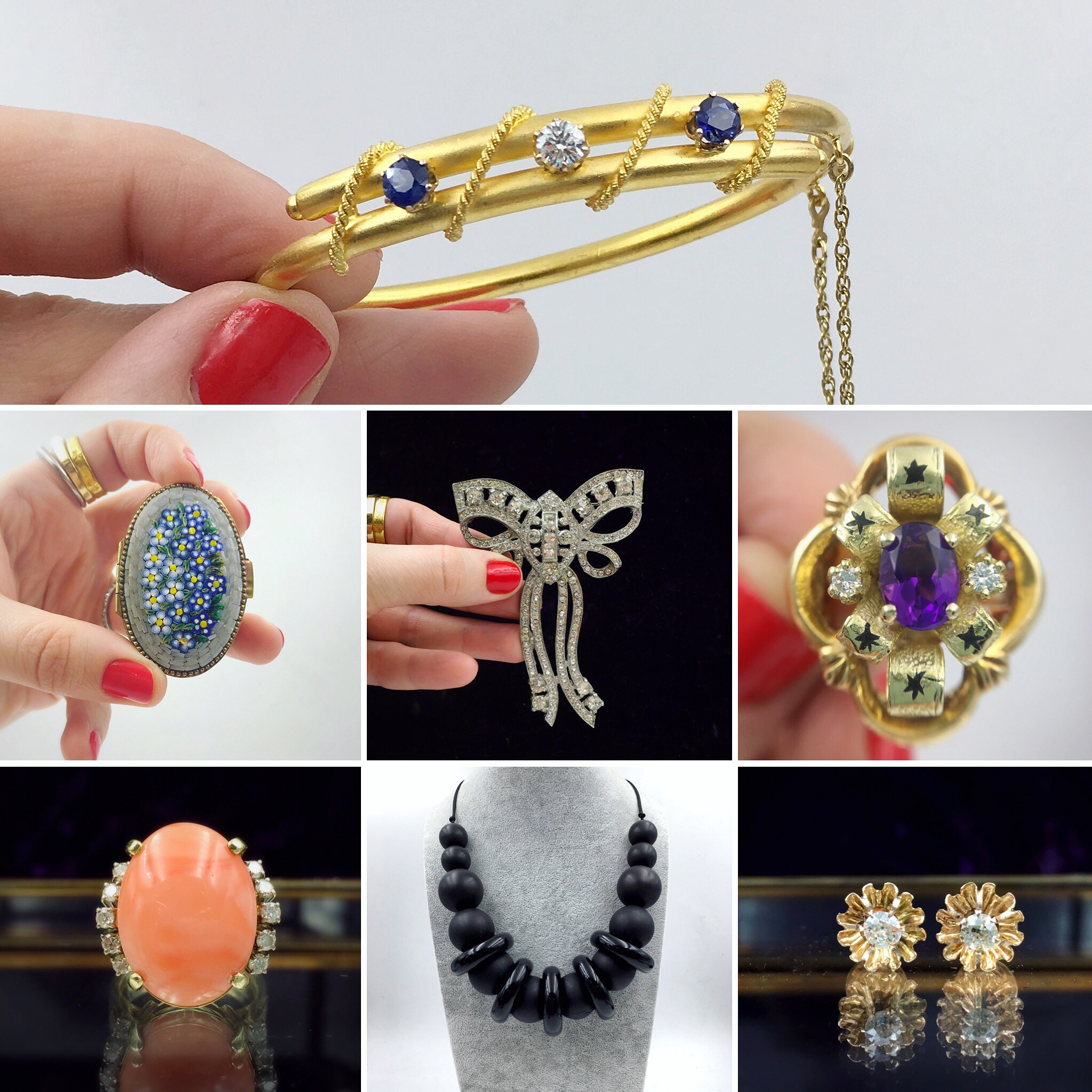 vintage jewelry nyc at Reverie