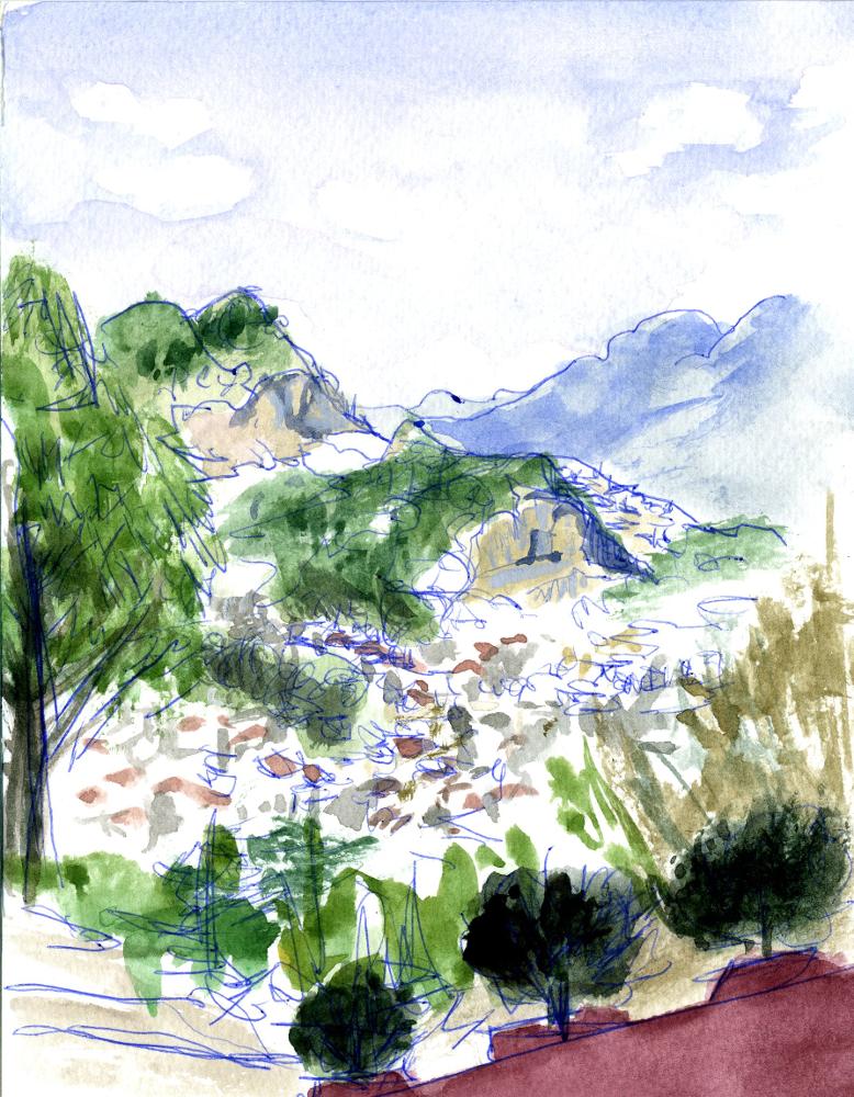 View From Iglesia de San Cristobal, 2/21/16