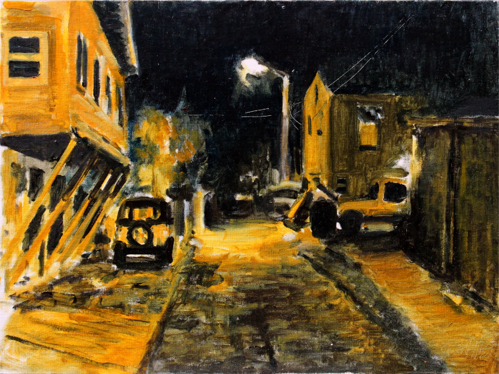 St. Pete Alley Nocturne