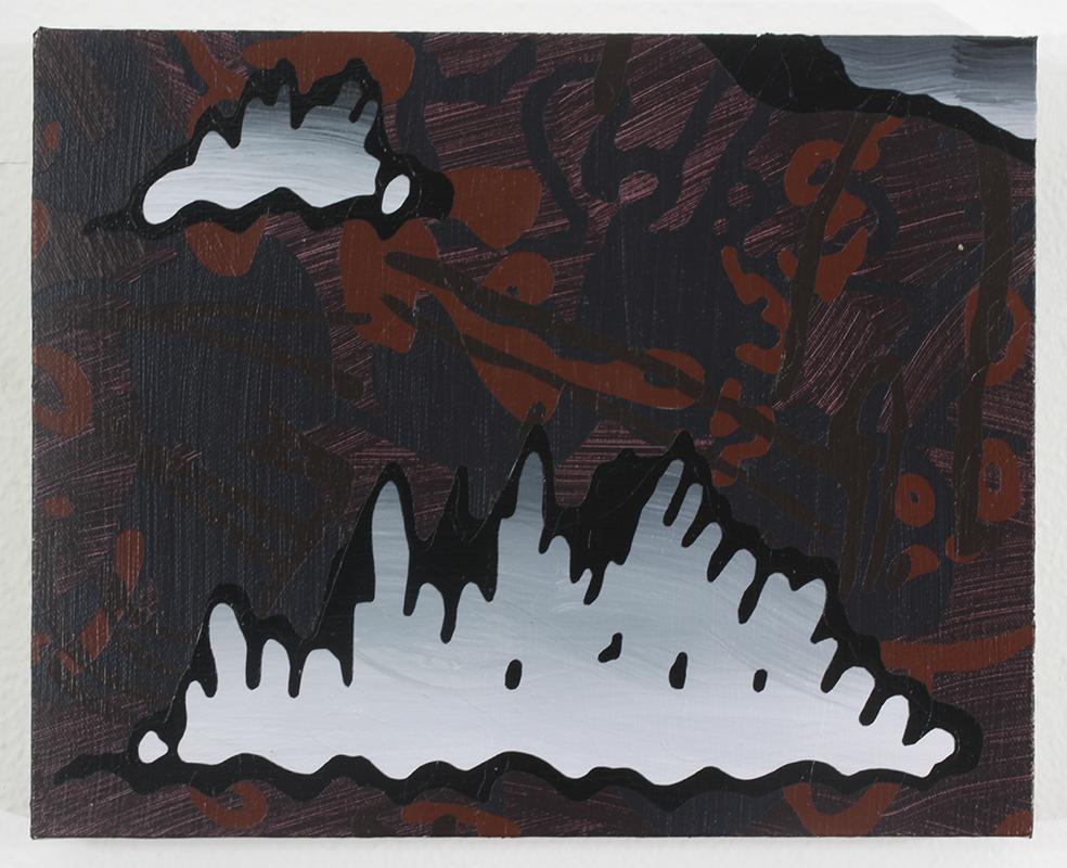 Quiteless Nightless   Acrylic on Canvas on Panel