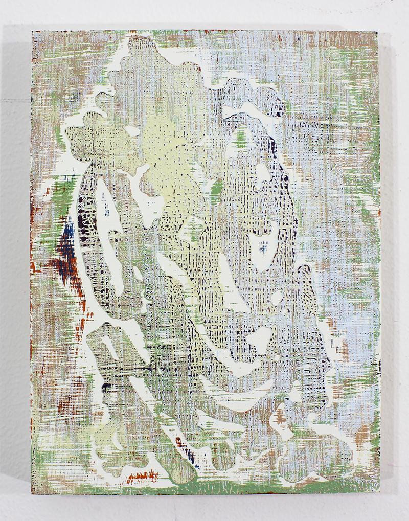 D   Acrylic on Panel