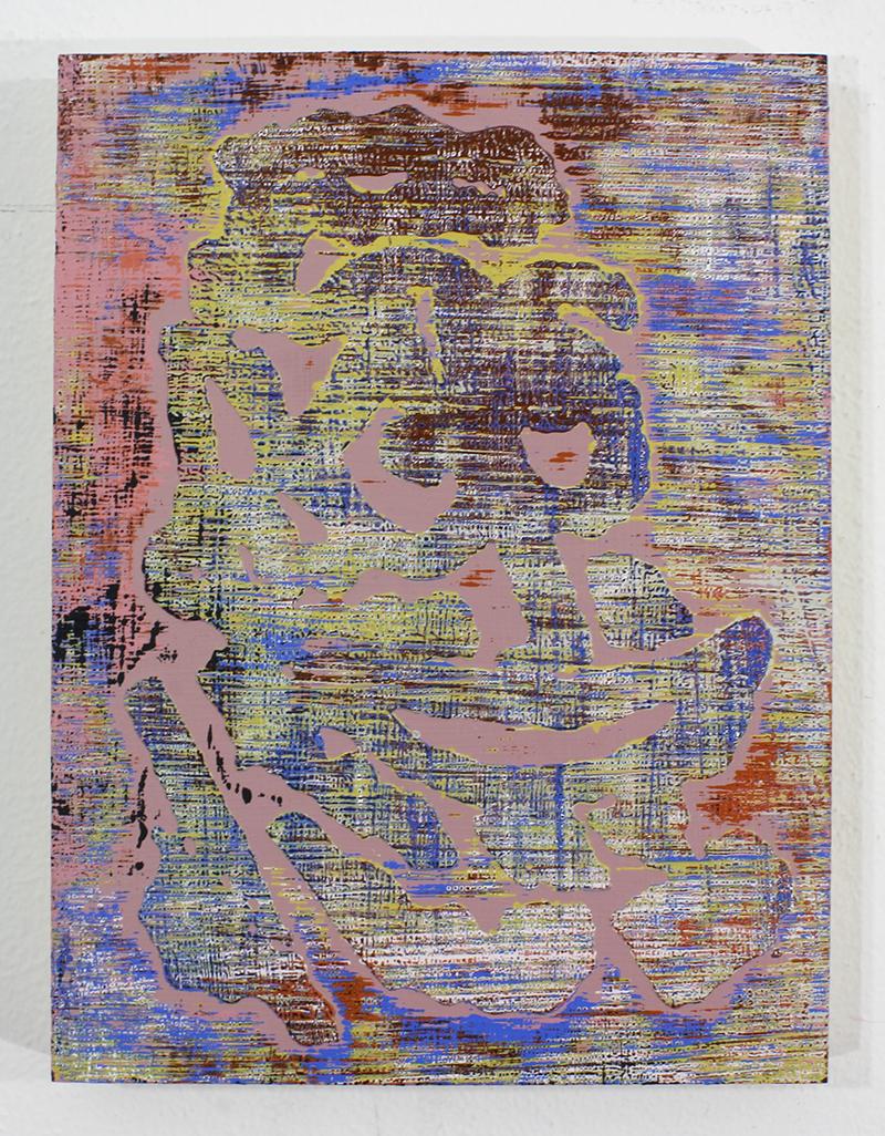 B   Acrylic on Panel