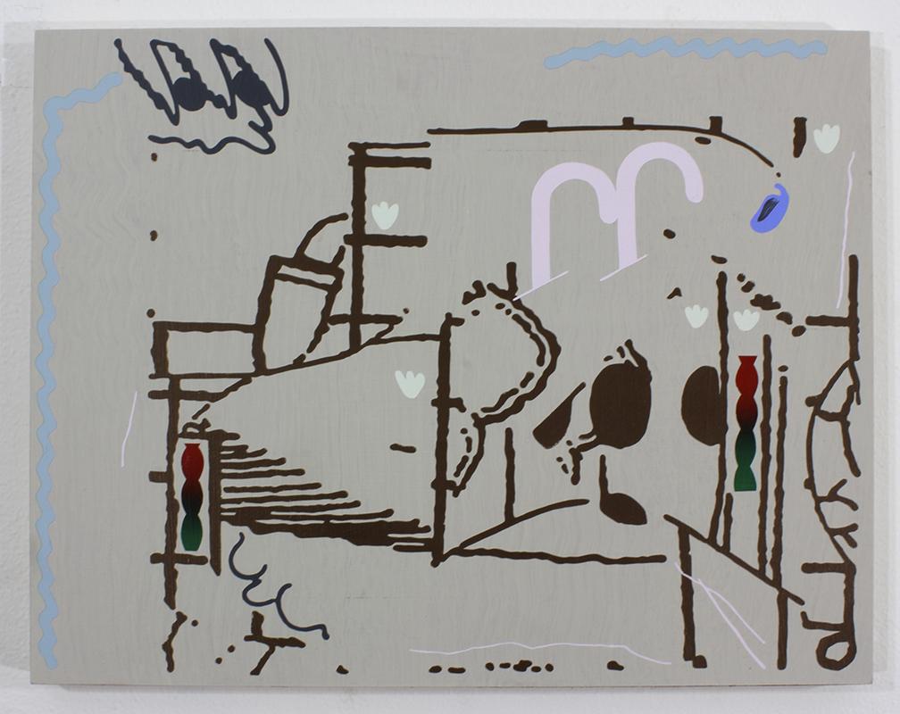 Untitled   Acrylic on Panel