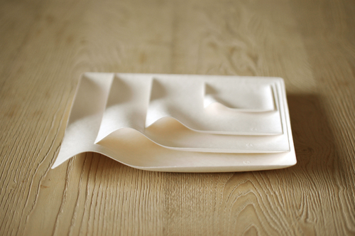 Elegant Conscientiously designed to accentuate all types of food and drink, WASARA elevates single-use tableware to an whole new level of artistry.