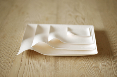 - ElegantConscientiously designed to accentuate all types of food and drink, WASARA elevates single-use tableware to an whole new level of artistry.