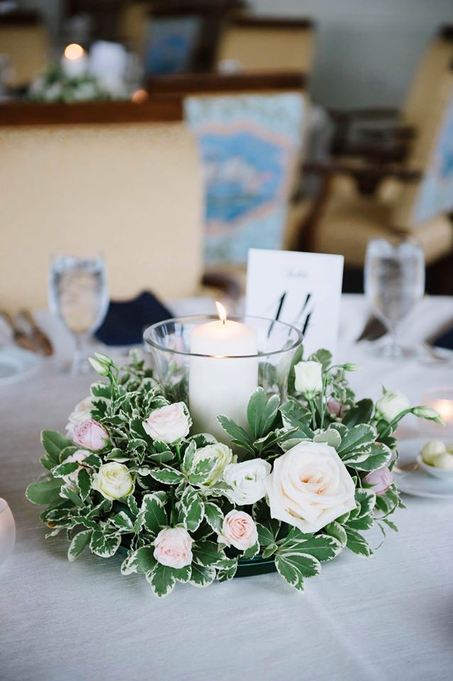 Centerpiece Designed For: Boston College Club Wedding | Photography: Katie Noble Photo