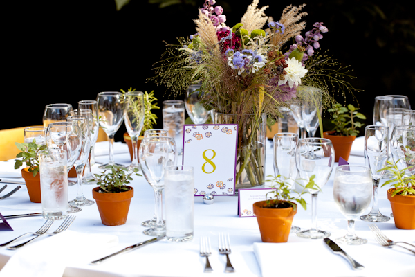 Centerpieces Designed For: Mass Audubon | Photography: Kristin Korpos