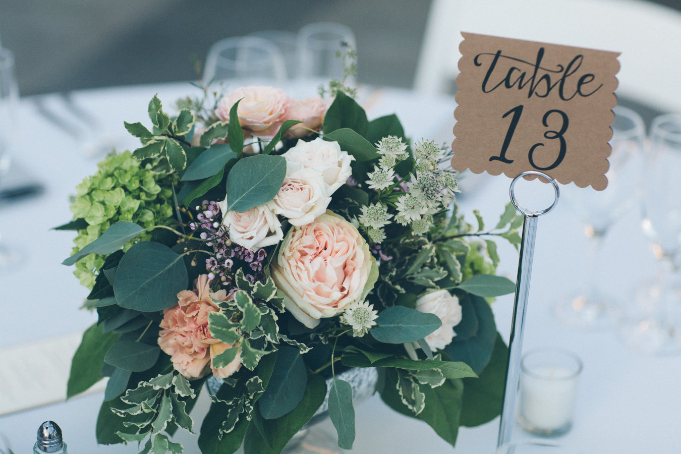 Centerpieces Designed For: Tower Hill Botanic Wedding   Photography: Abby Lorenz