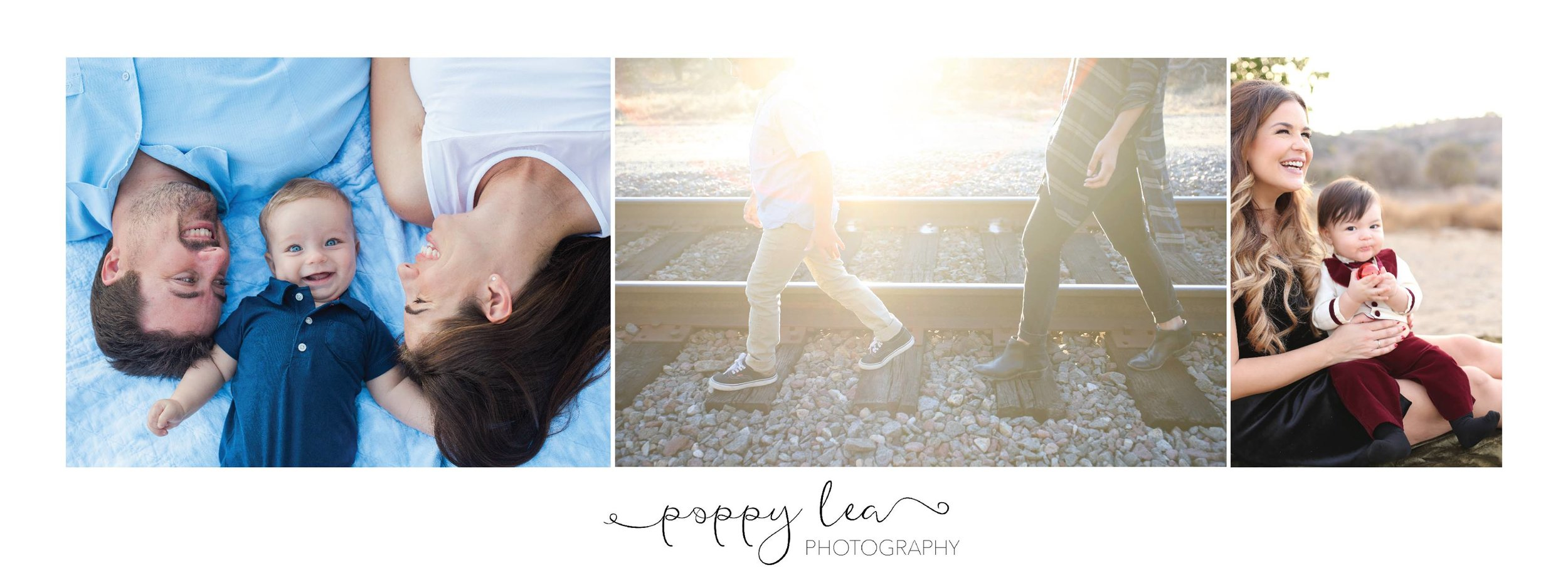fall family photography, orange county poppy lea