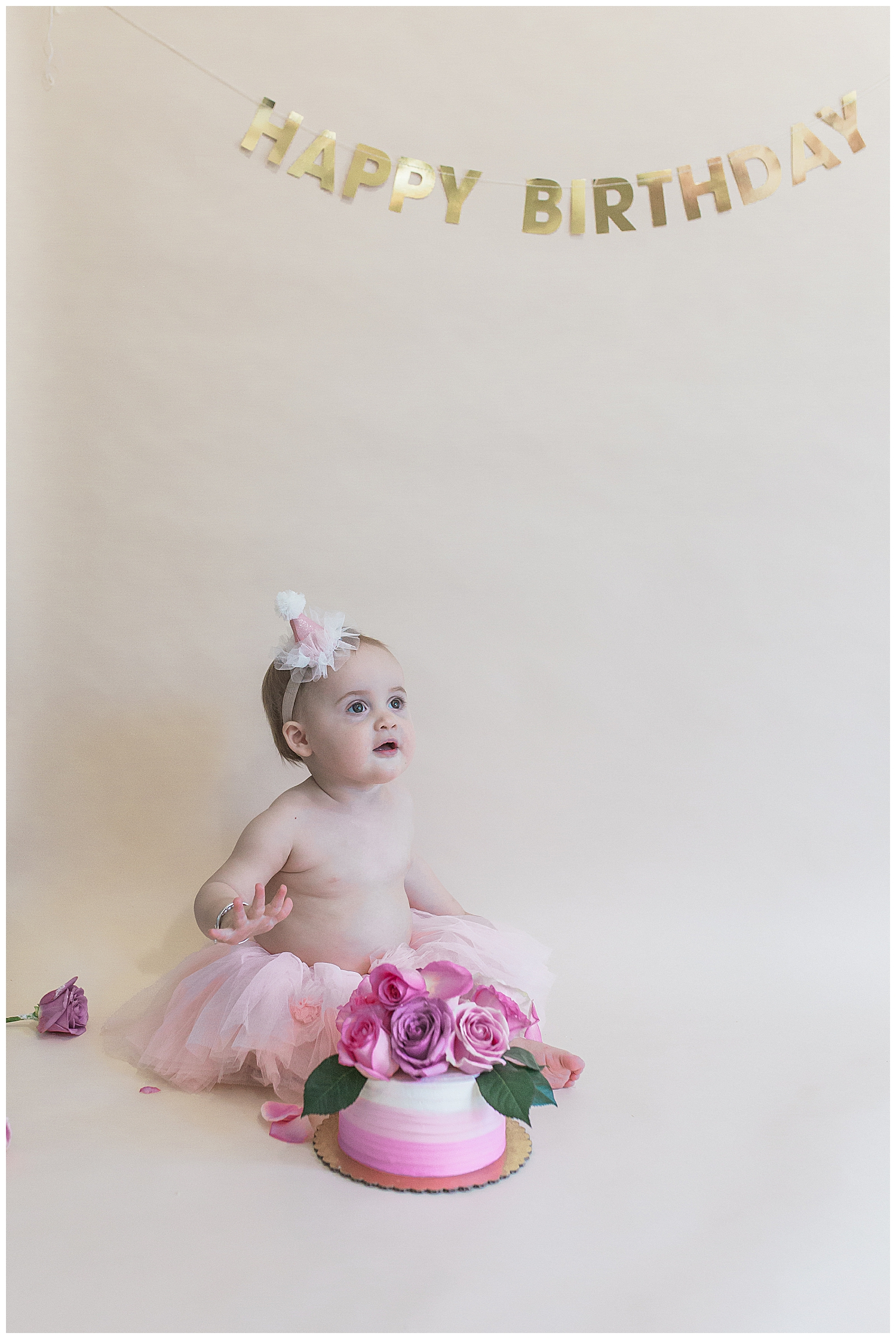 orange county baby first birthday during their photography session