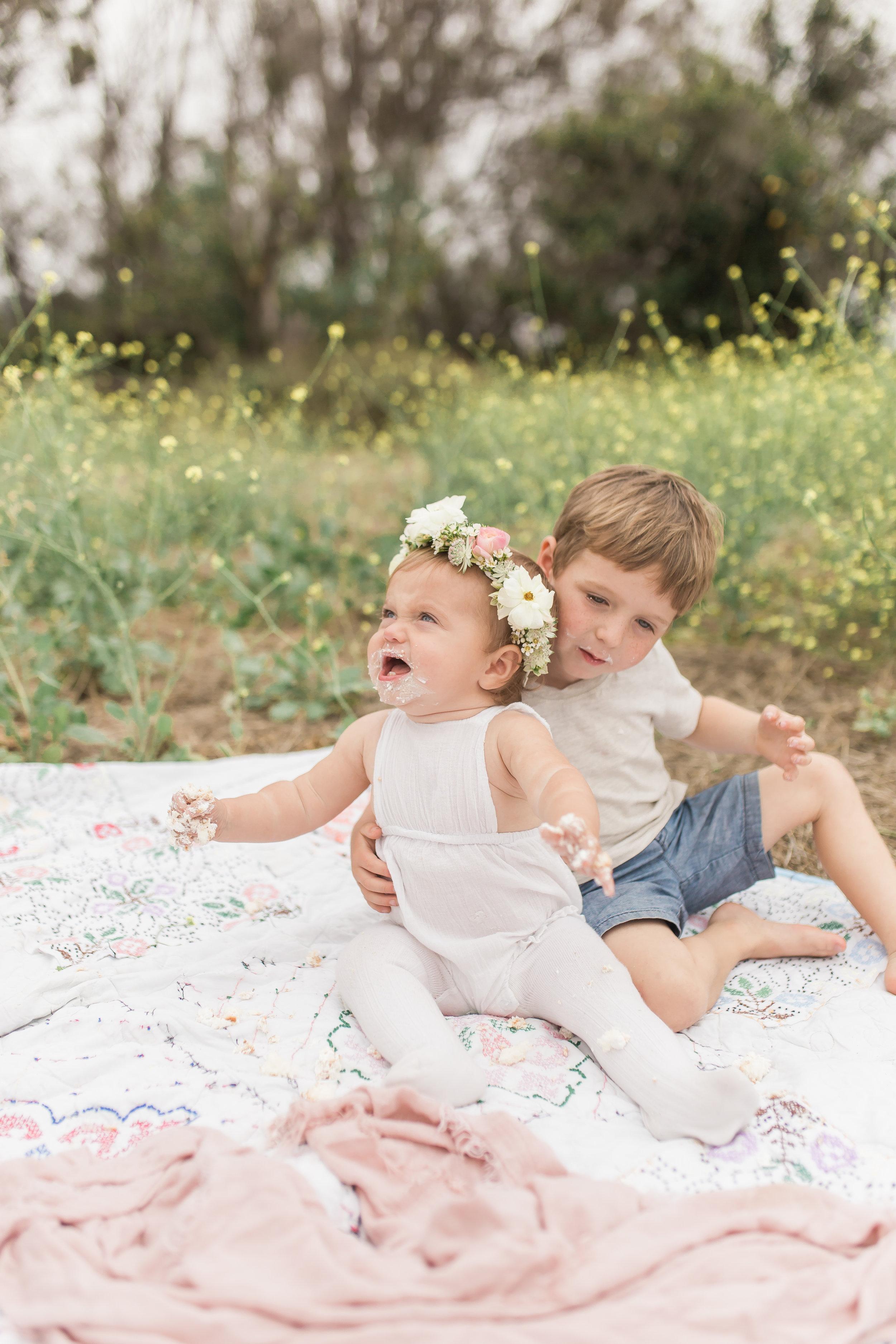 Dana Point Infant Photographer 1st birthday