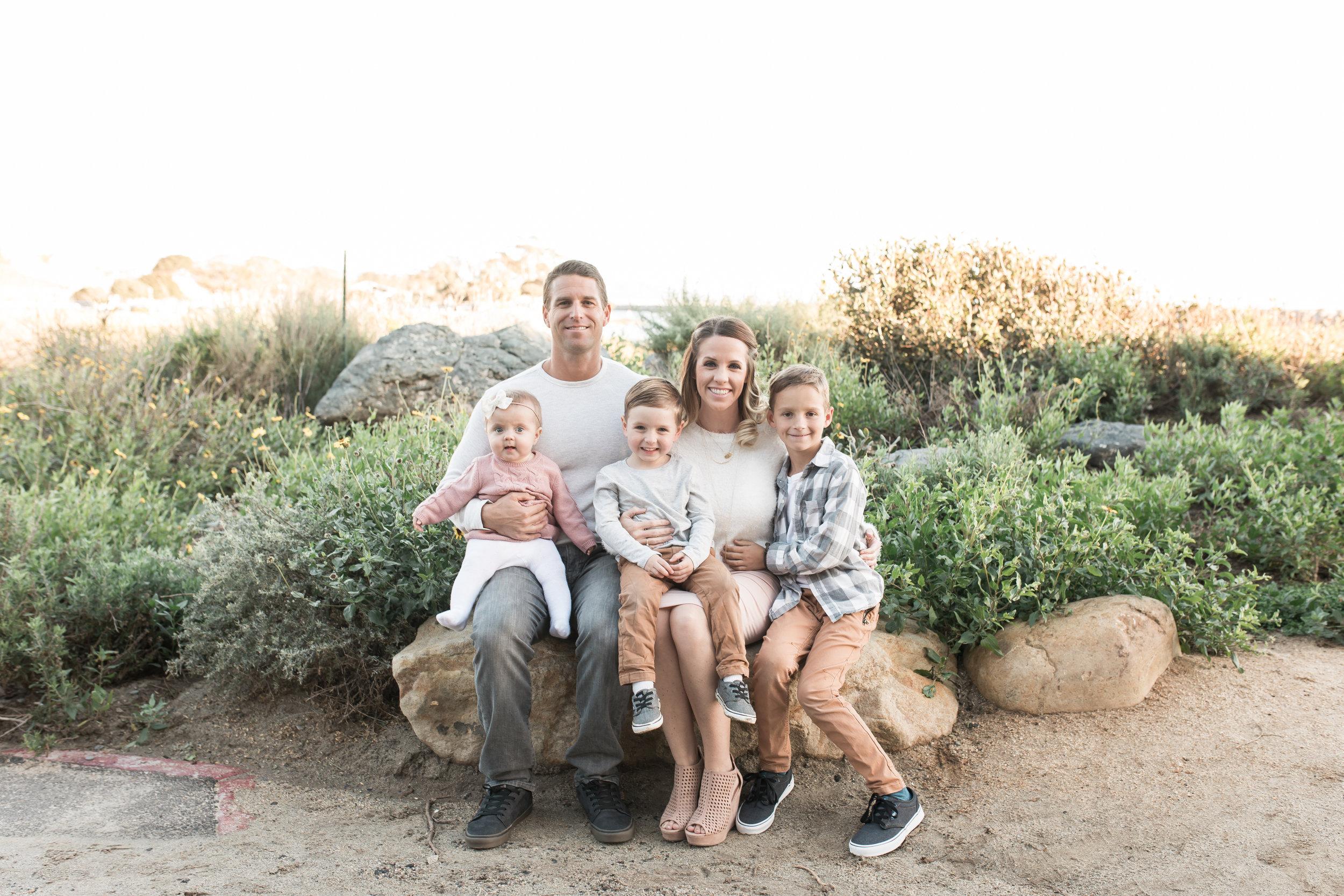 Dana Point Photography family photos at the harbor