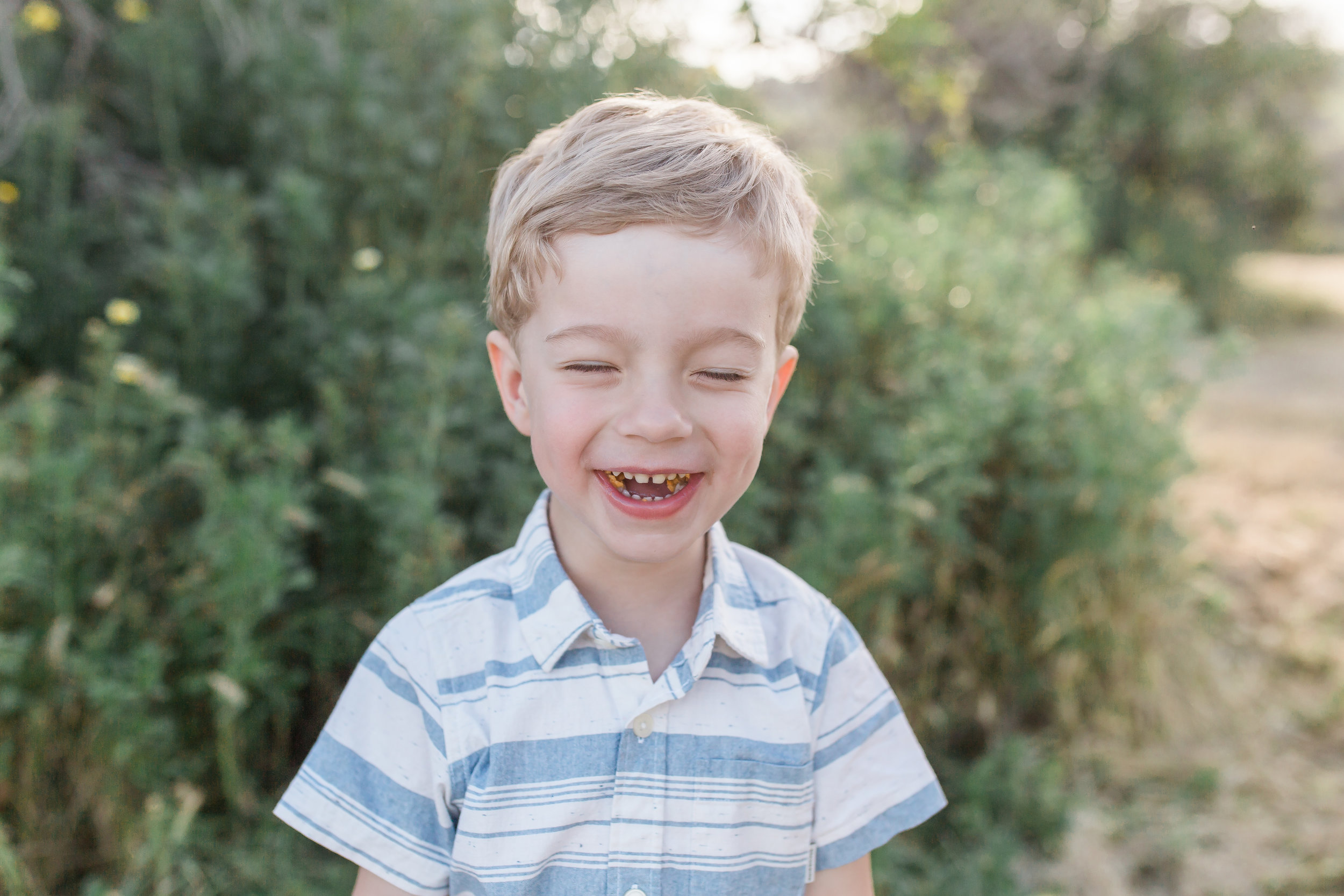 Dana Point Family Photographer little boy laughing
