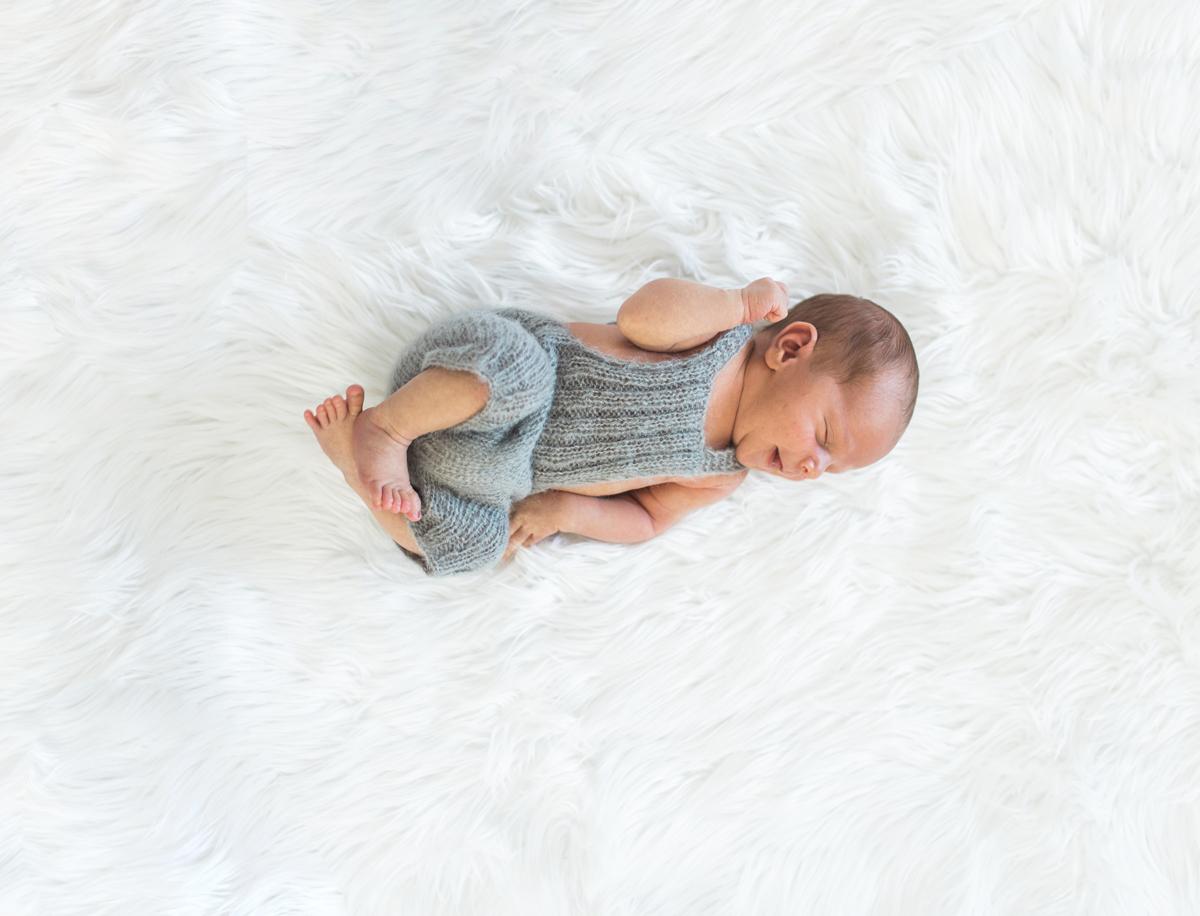 Newport Beach Newborn Photographer natural baby boy