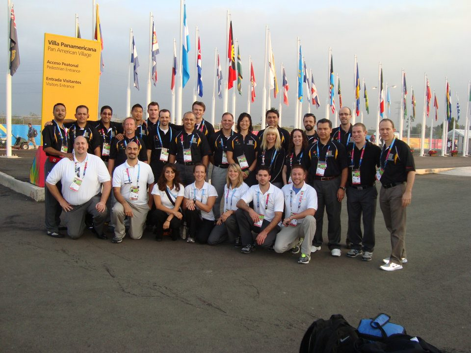 Dr. Ray leads a polyclinic team of international sports physicians at the Pan American Games