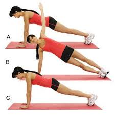 A dynamic plank has been shown to be just as difficult yet allows the intrinsic muscles to adapt, dynamic allowing for alternating contractile and rest periods,to long term holds and of the position resulting in proper stabilization of the lumbar spine.