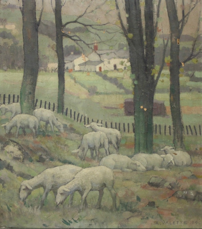 Sold For £9,200  Pierre Adolphe Valette (1876-1942)