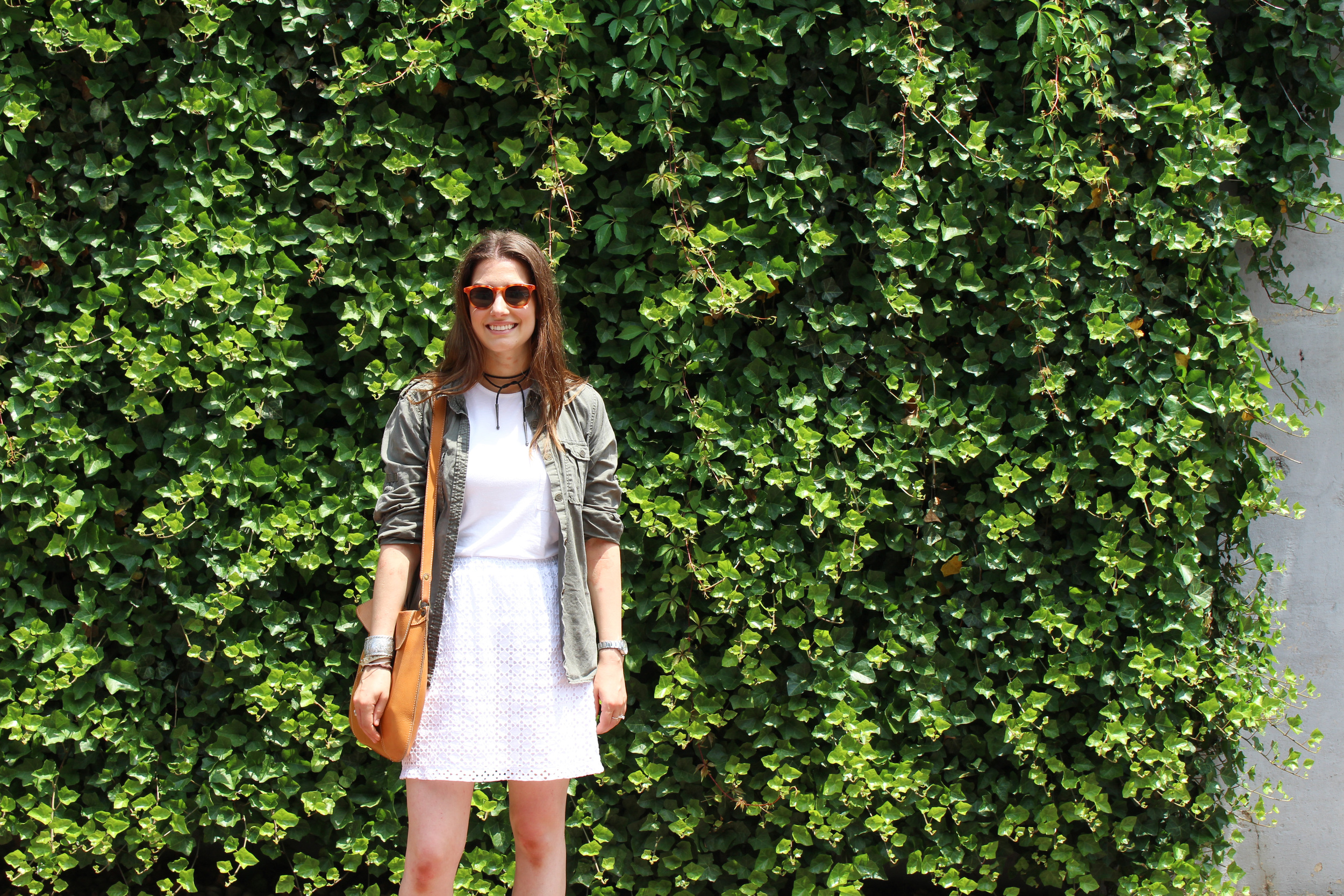 ivy wall, all white, summer outfit, washington dc