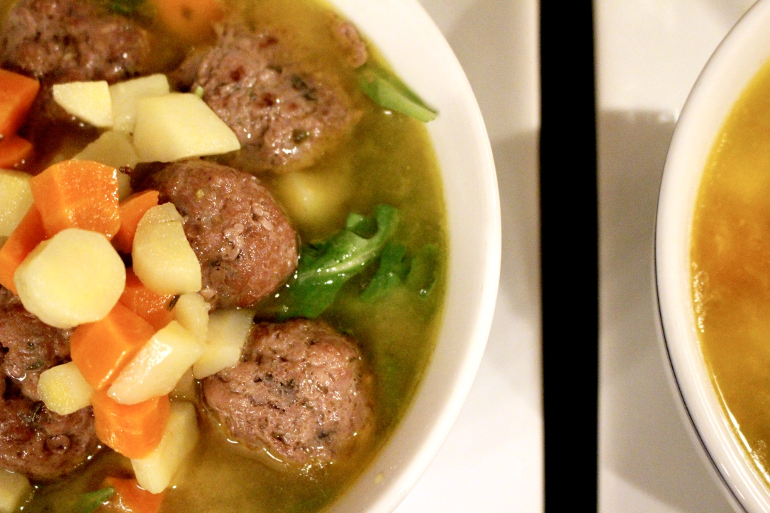 MEATBALL SOUP / BONE BROTH