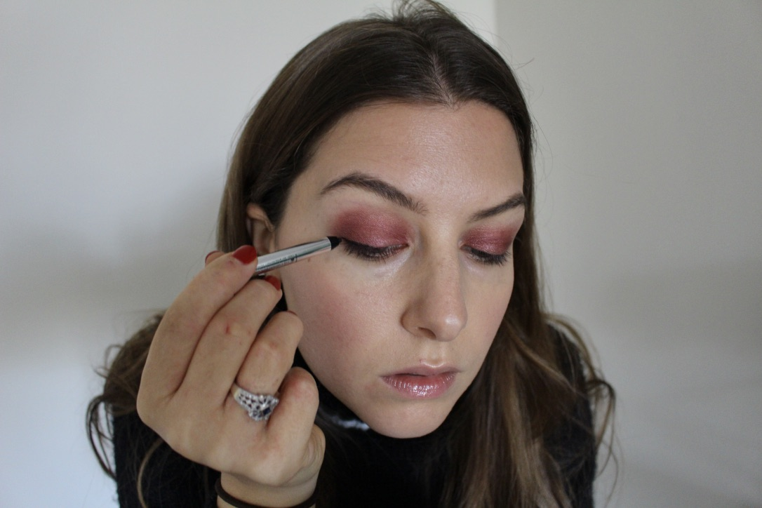 TIGHTLINE / CRANBERRY EYE / FALL MAKEUP