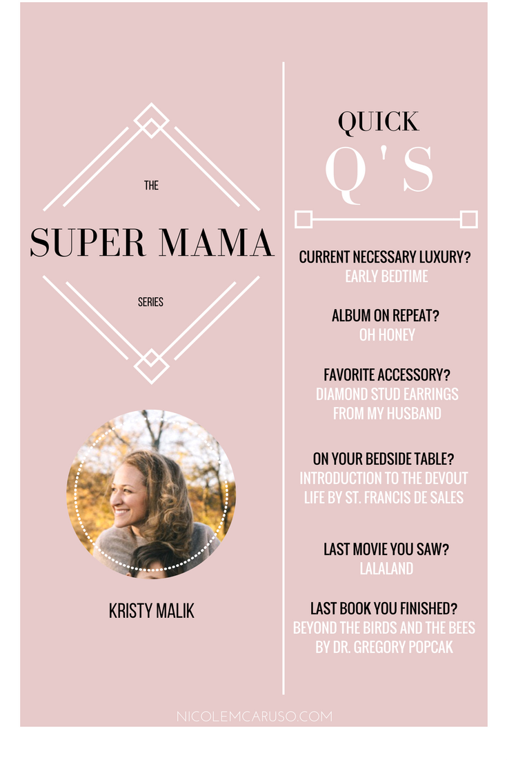 KRISTY MALIK / SUPER MAMA SERIES / nicolemcaruso.com