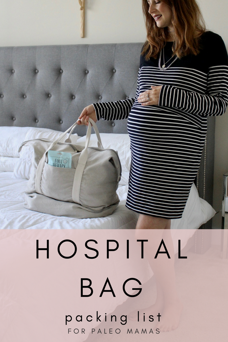 HOSPITAL BAG ESSENTIALS / NICOLEMCARUSO.COM