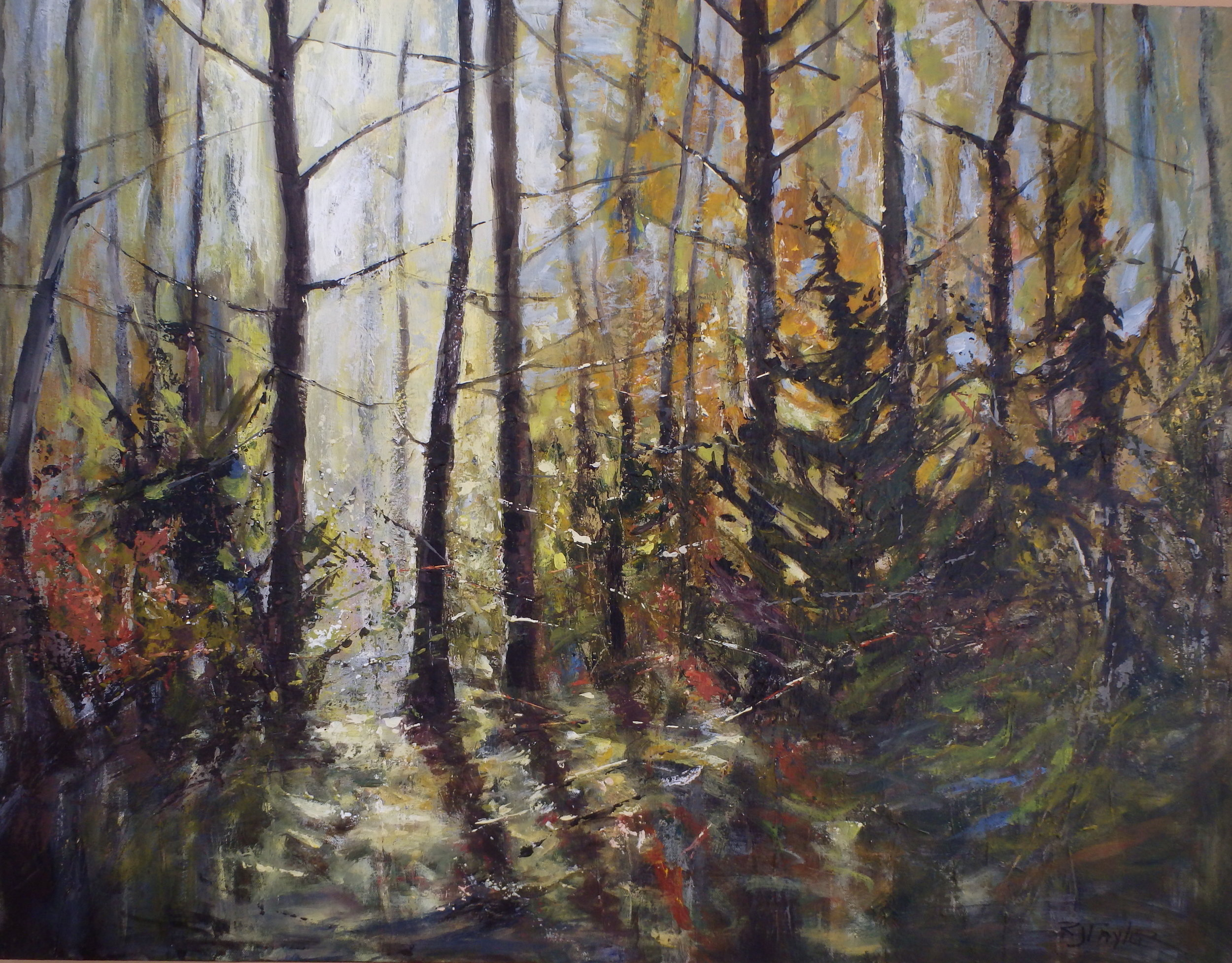 FOREST SPRUCE 30X40 SOLD