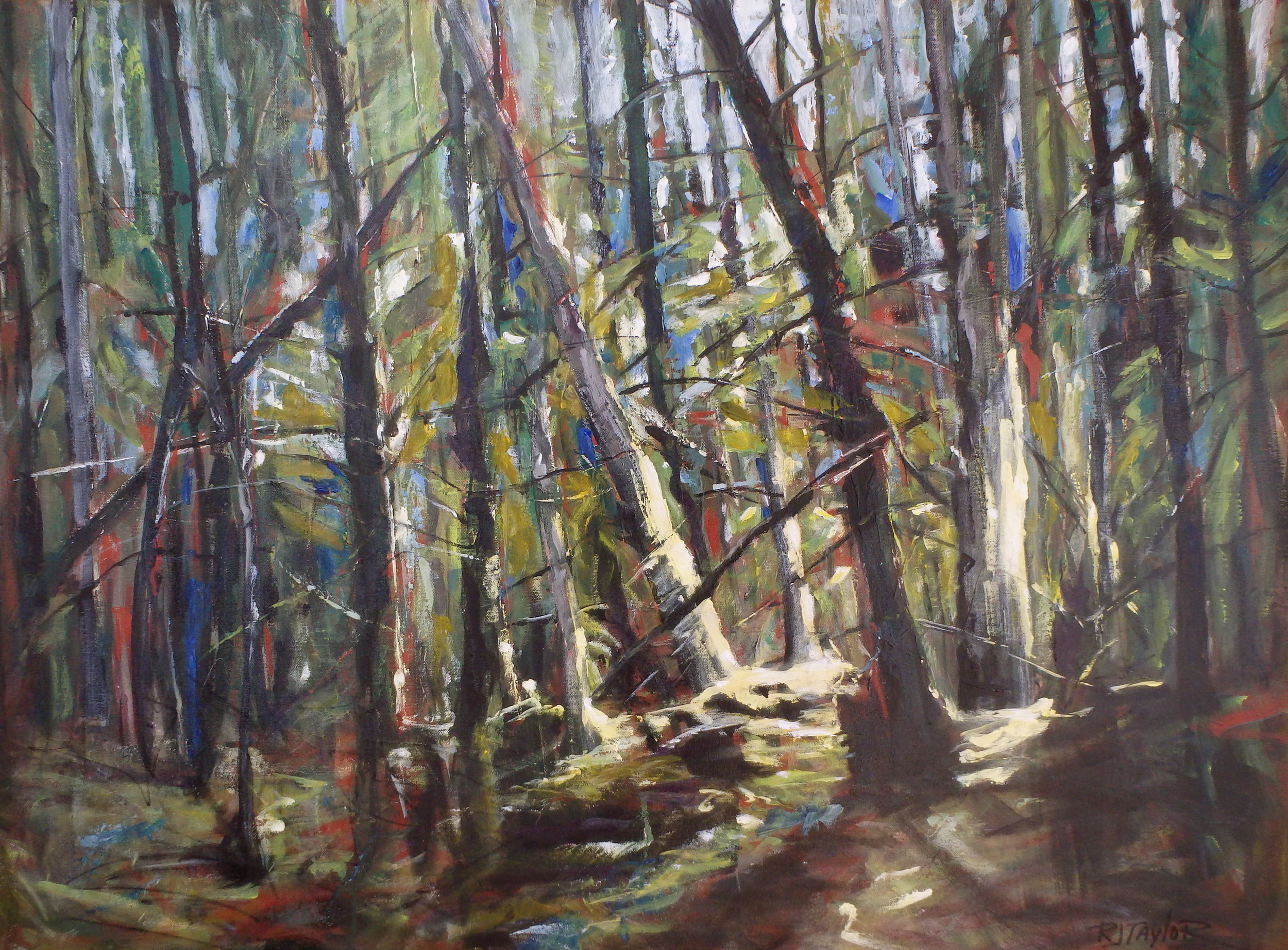 FOREST 30x40 Sold 2017