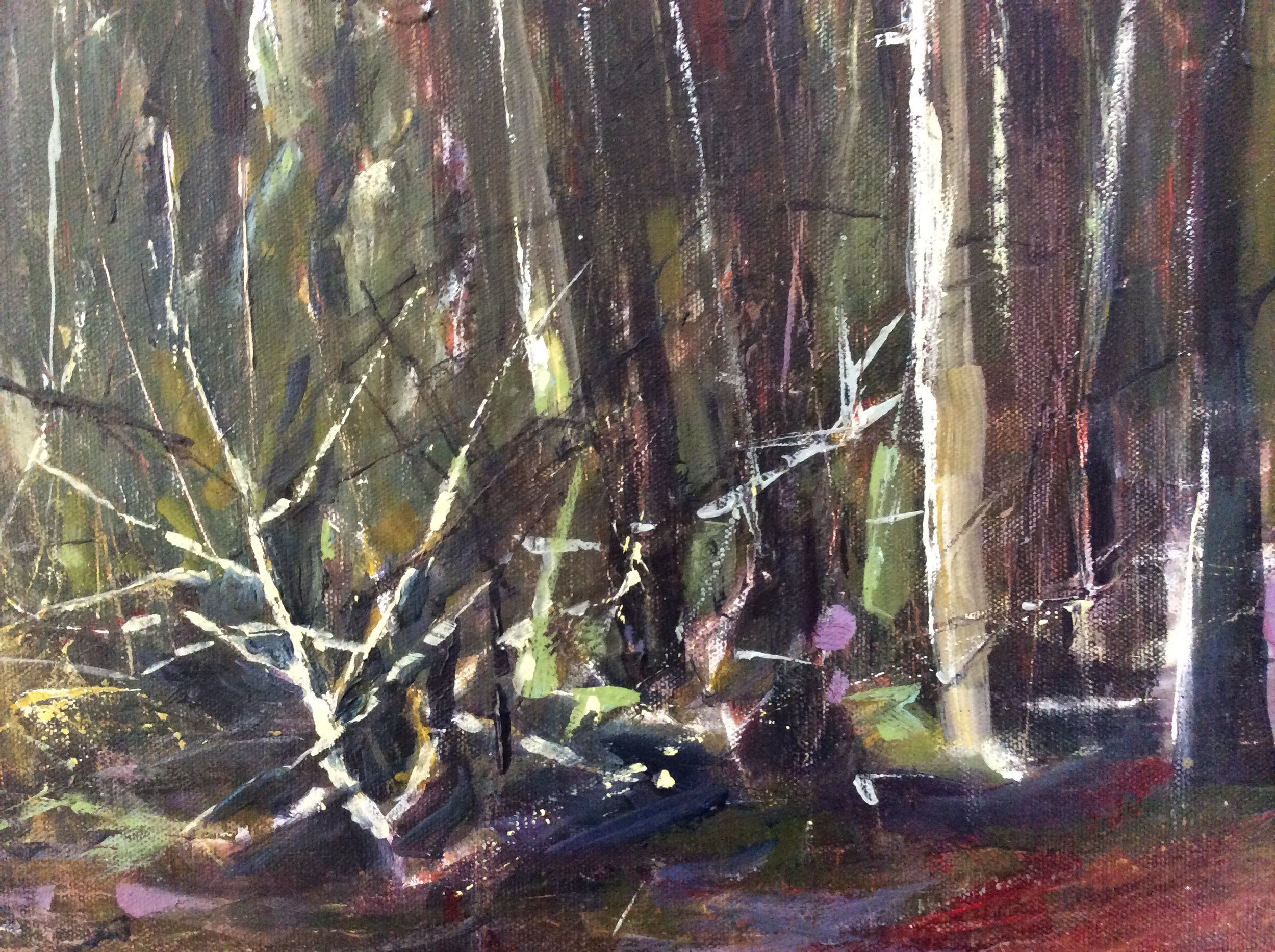 IN THE FOREST 20x30 NOT FOR SALE