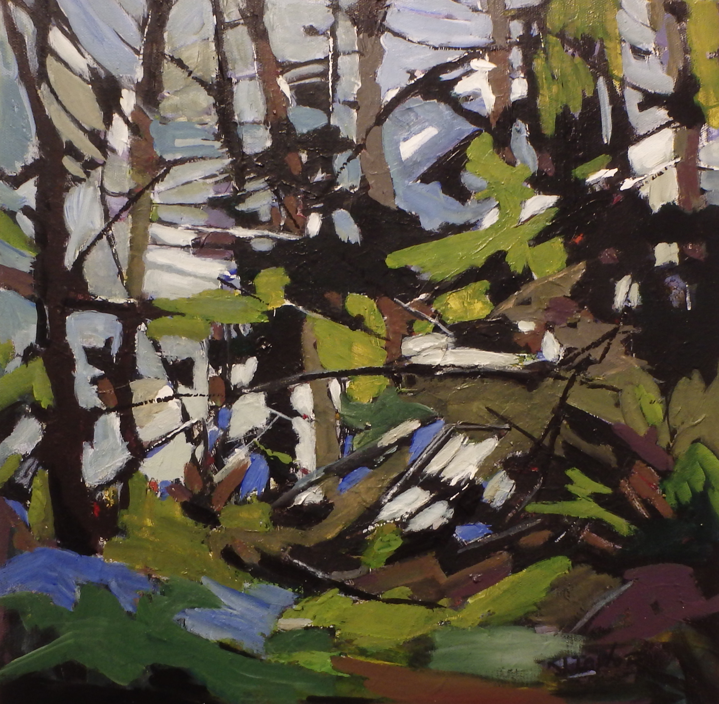 FOREST GREENS 18x18