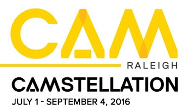 CAM Raleigh presents  CAMstellation,  an exhibition celebrating artists of all ages in our community. CAMstellation is a non-juried, non-sale exhibition. Artwork will be hung salon-style in CAM's Main Gallery.