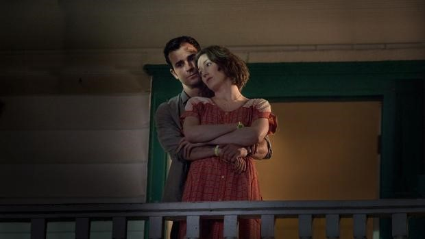 Justin Theroux as Kevin Garvey and Carrie Coon as Nora Durst