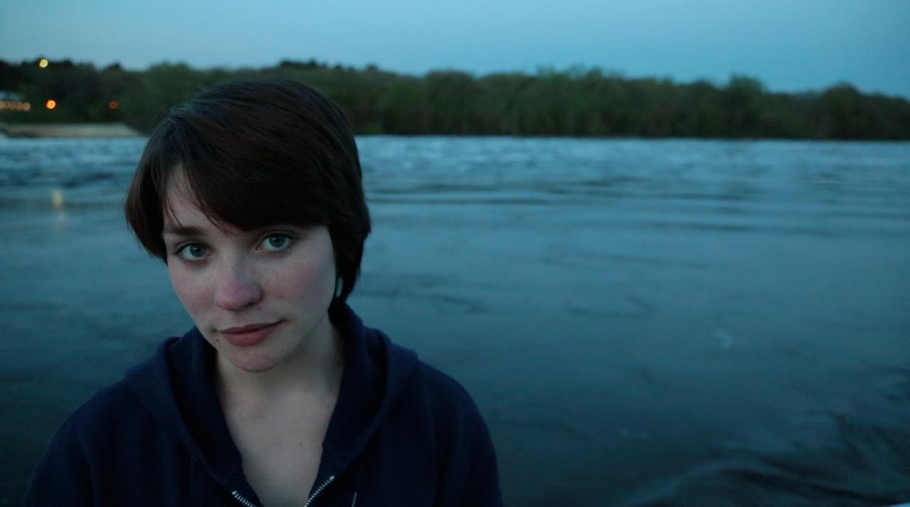"""Lindsay Kay stars in """"Fine"""""""
