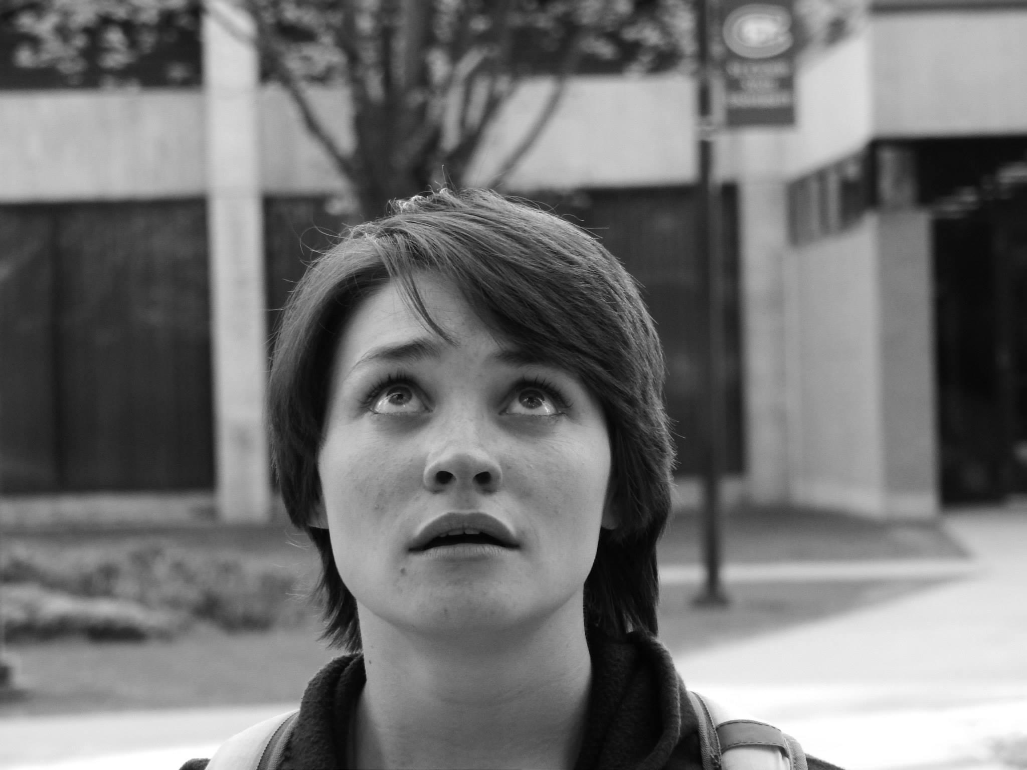 """Lindsay Kay starring in """"Fine""""(photo by Joe Barden)"""