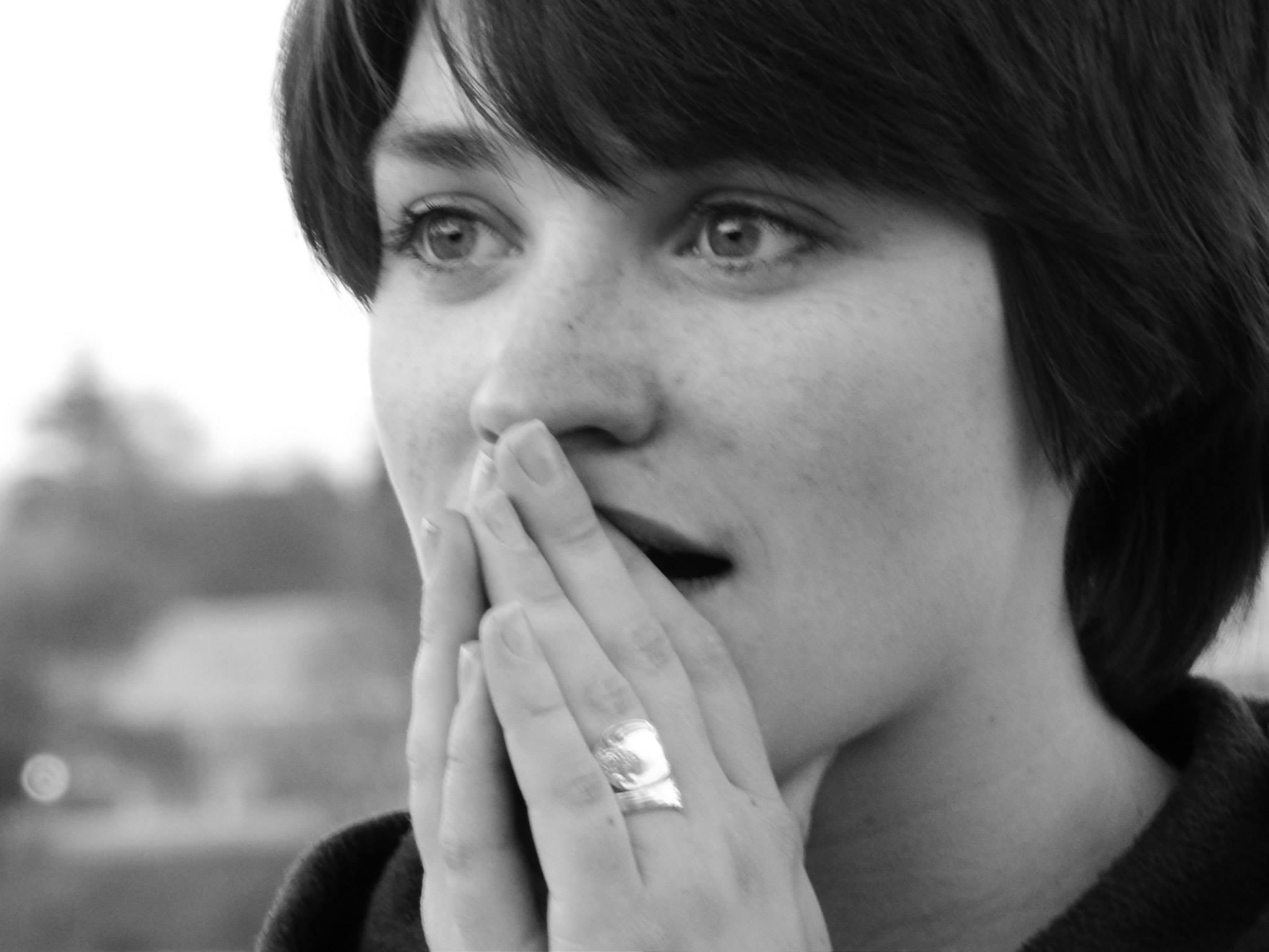 "Lindsay Kay stars in ""Fine"" (photo by Joe Barden)"