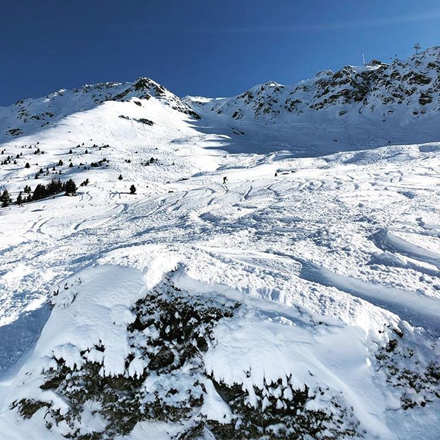 There may be a lifetime of skiing to be done at #verbier #switzerland #alps