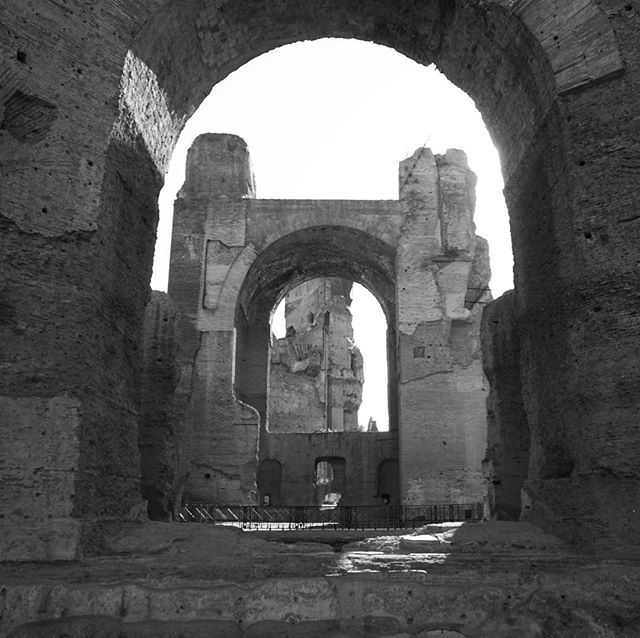 Baths of Caracalla #roma #italia #180giorni #architecturephotography