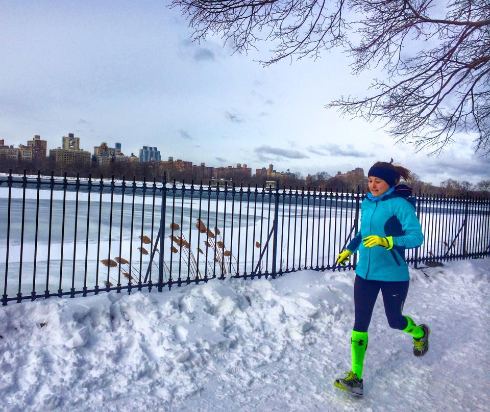 Central Park Winter Running