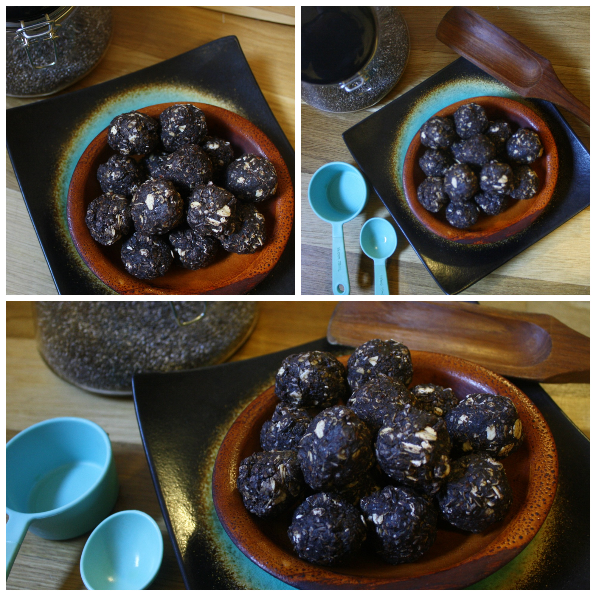 This was my photography session with some  Chocolate Peanut Butter No-Bake Bites  using a recipe from  Gimme Some Oven . Her recipes are a new favorite of mine!