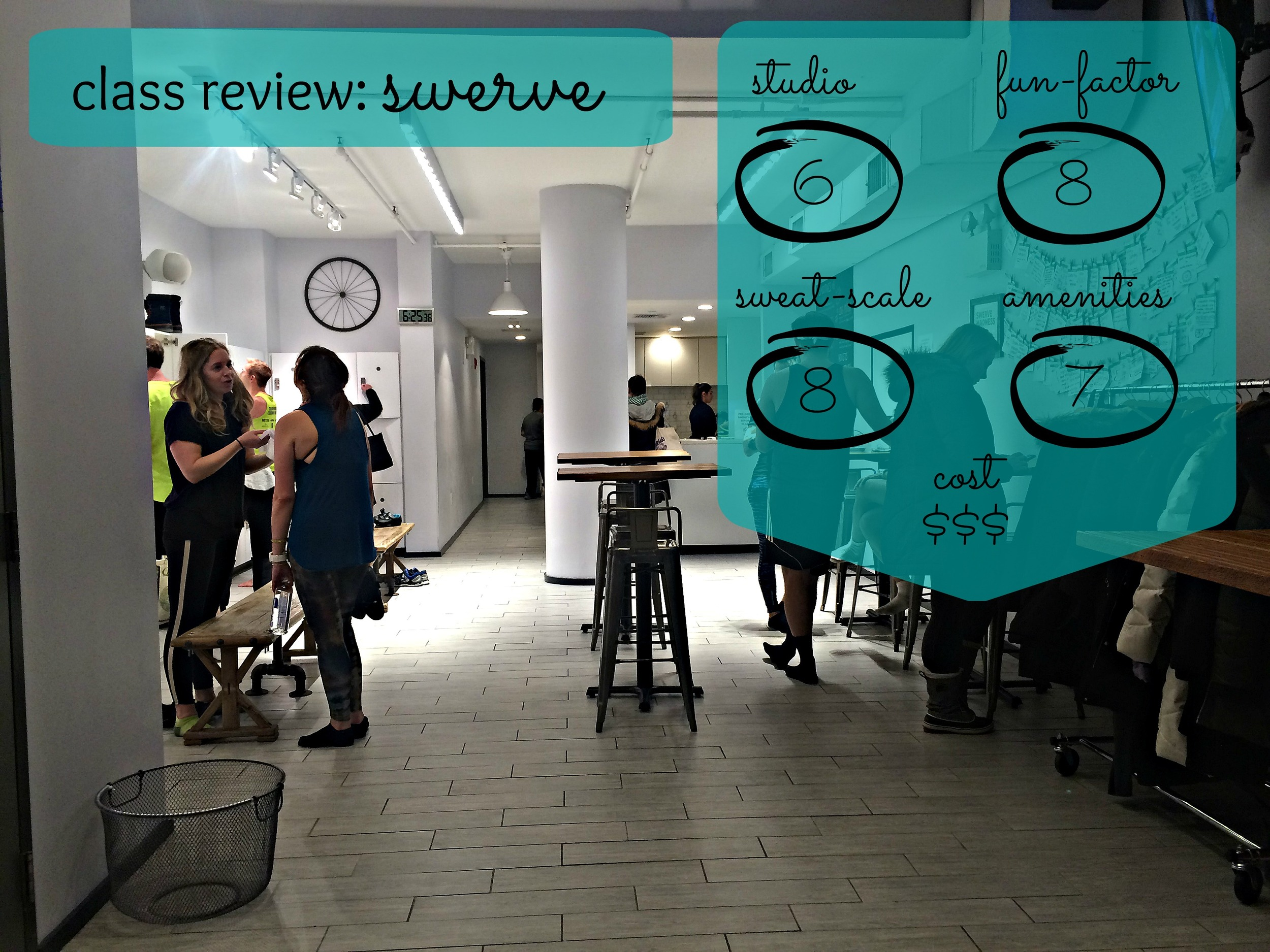 SWERVE Spin Studio Review