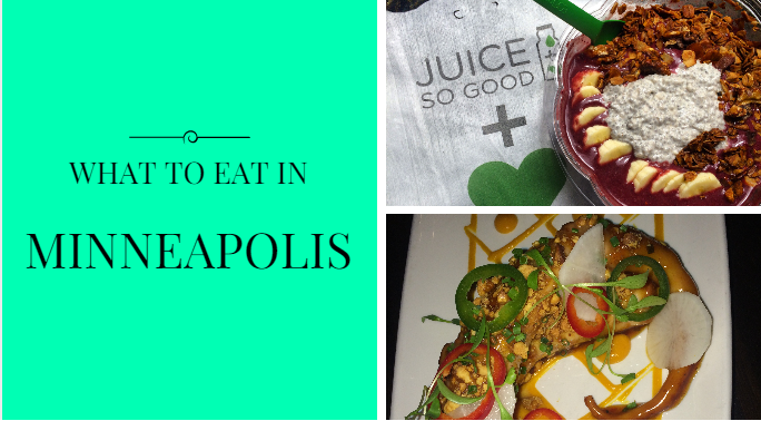 What To Eat In Minneapolis