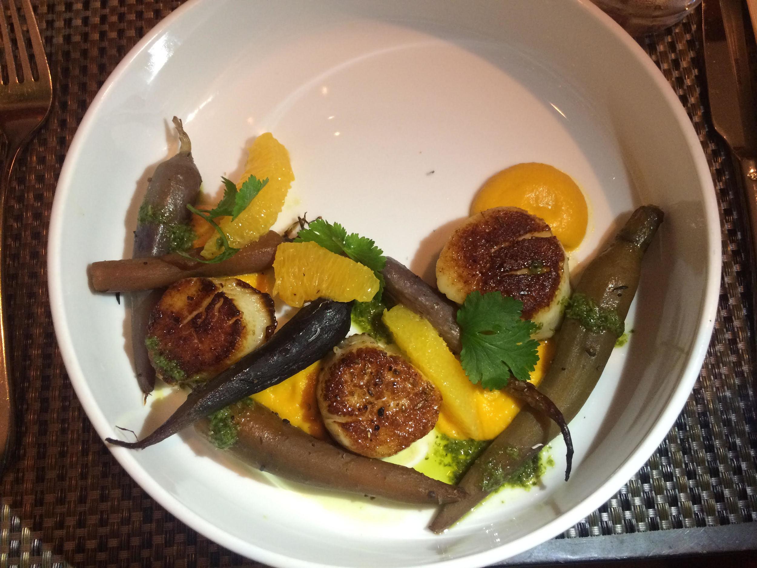 Scallops Fig & Olive