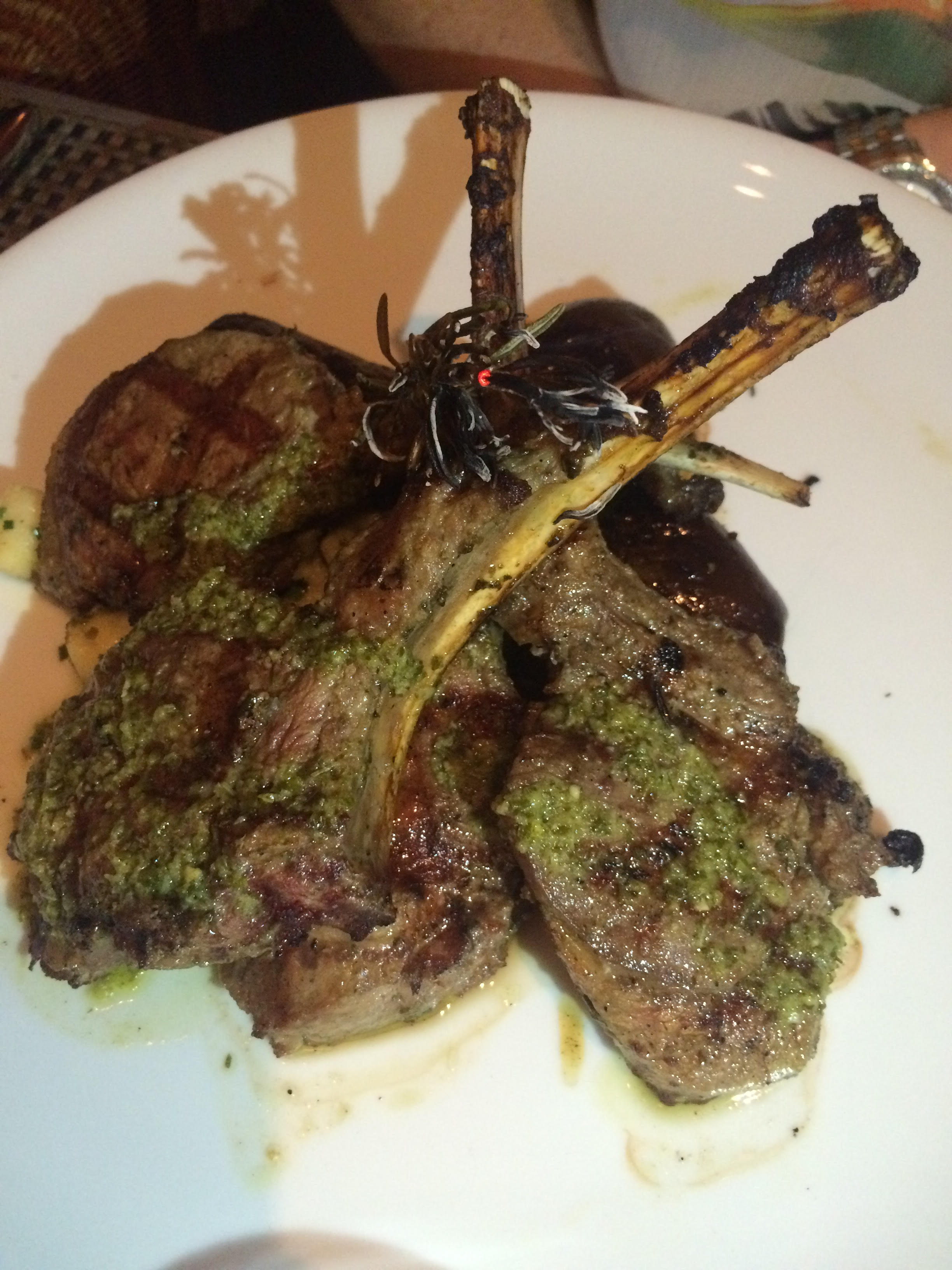 Lamb Chop Fig & Olive