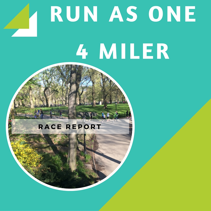 NYRR Run As One 4 Miler