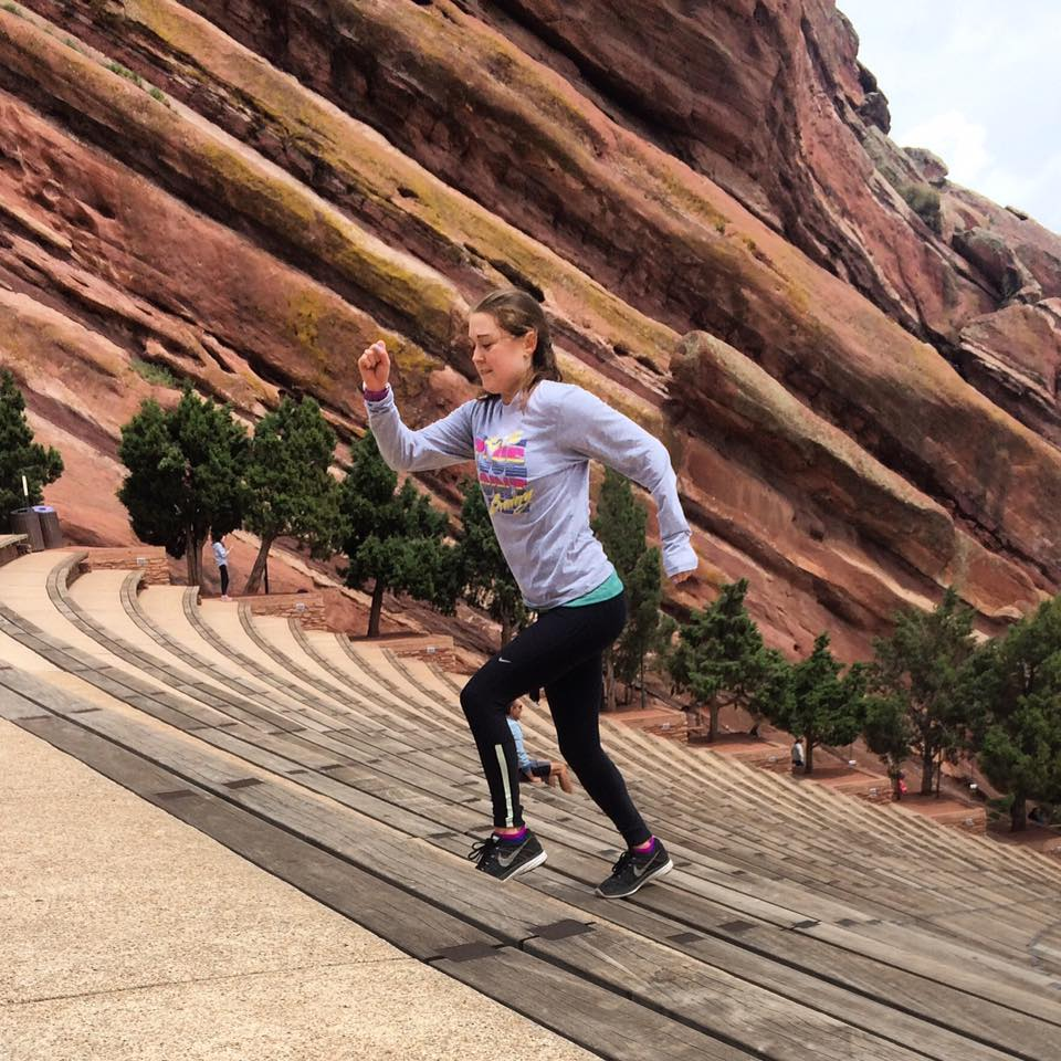 Red Rock Amphitheater Workout