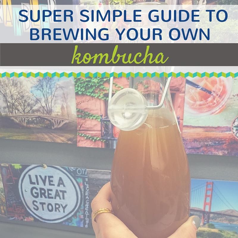 How To Brew Kombucha At Home