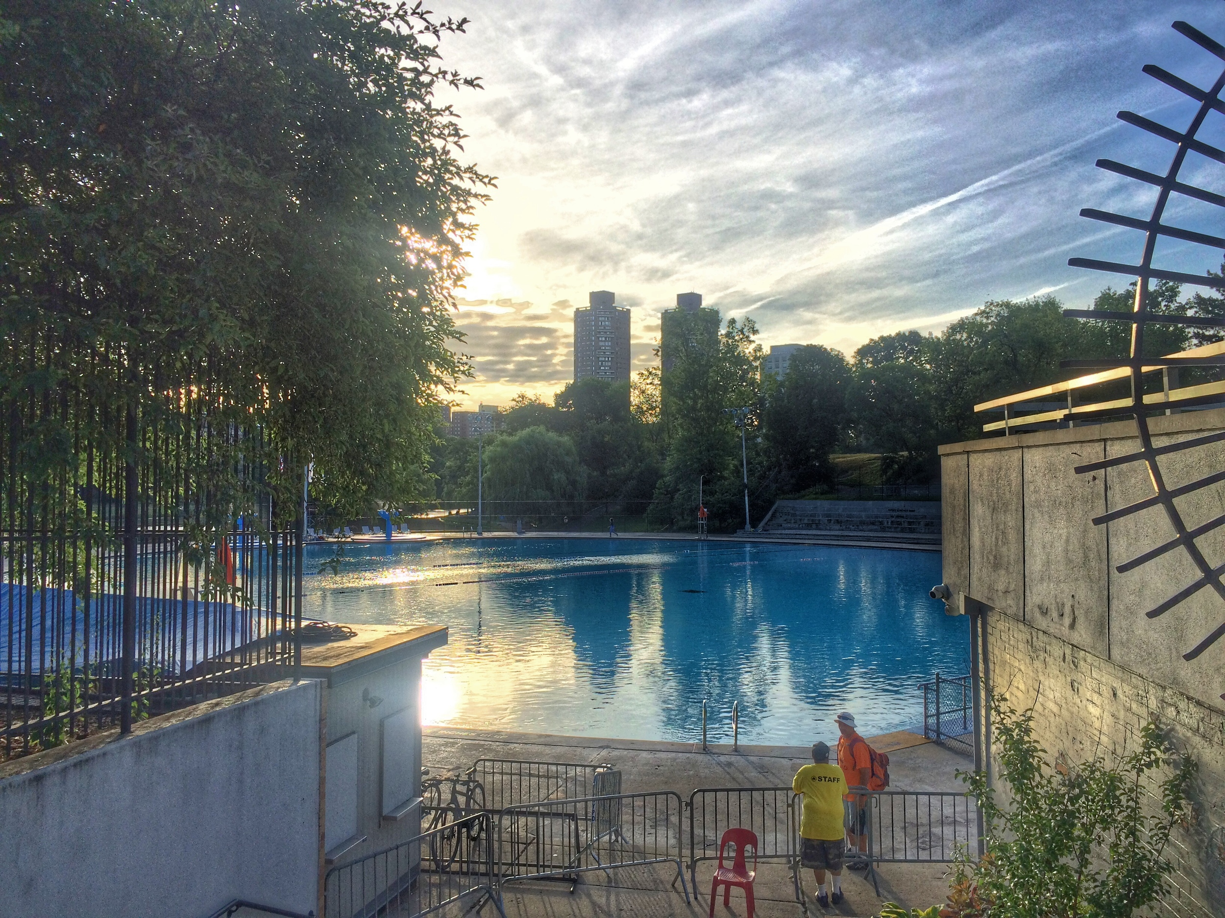 Lasker Pool Central Park
