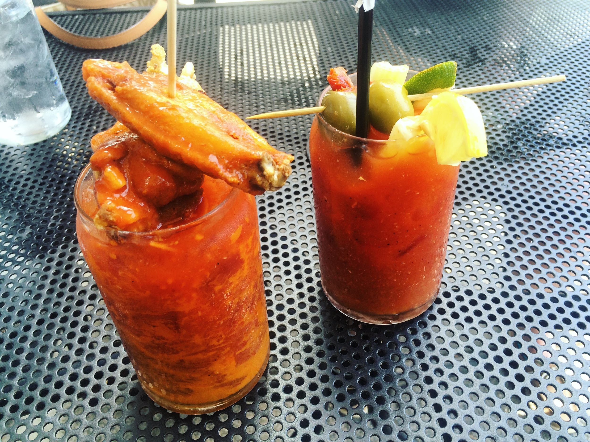 B-Rads Buffalo Wing Bloody Mary