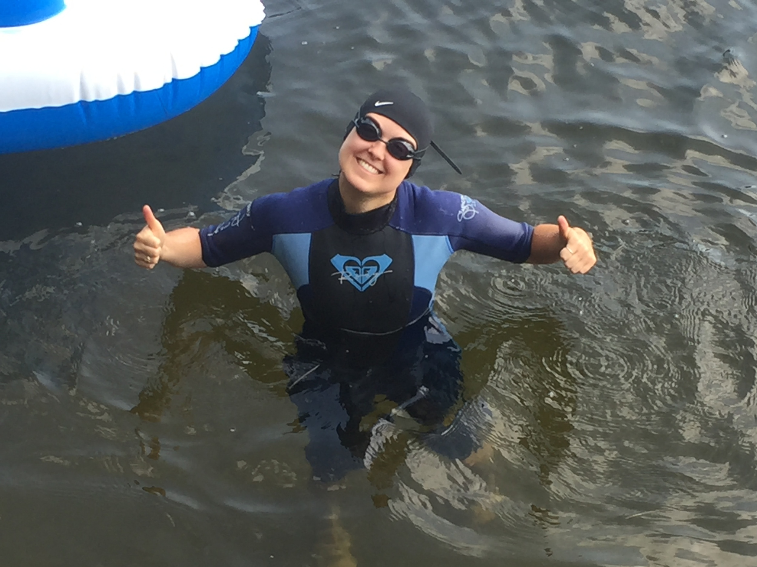 Triathlon Training Open Water Swim