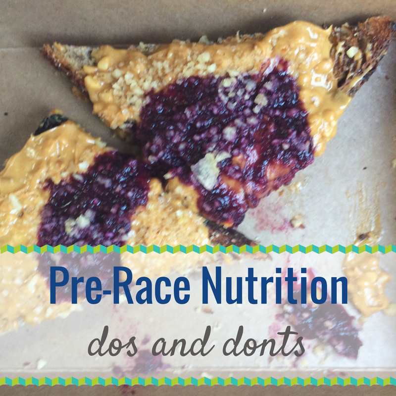 Dos and Donts of Pre-Race Nutrition